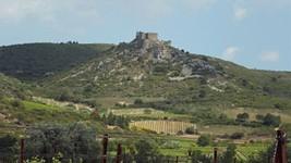 Le château d'Aguilar.