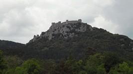 Le château de Puilaurens.