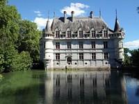 Le château d'Azay-le-Rideau.