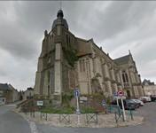 Départ de l'église de Rochefort sur Loire