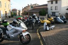 Depart des Casques Coppellois de St Julien de Coppel