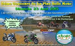 Affiche concours de la plus belle moto