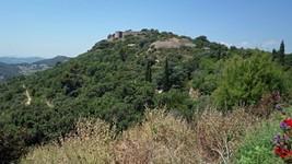 Le fort Pipaudon depuis Evenos