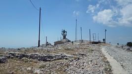 La vigie incendie et le relais du mont Caume