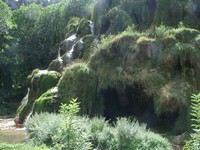 La cascade des tufs de Baume-les-Messieurs