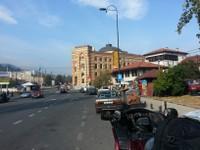 Sarajévo entrée de la ville