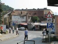 Rue centre de Gorazde