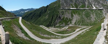 Old road to San-Gottardo (paved with cobbles)