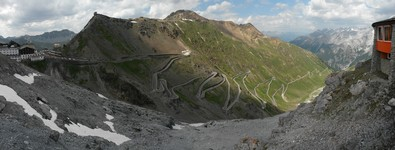 Stelvio road (east), 48 bends!