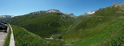 Somewhere east of FurkaPass