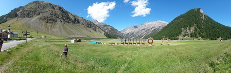 Livigno lake (south side)