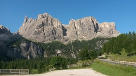 Dolomite mountains near Colfosco