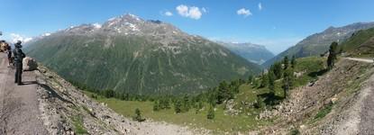 Passo Rombo (Austrian side)