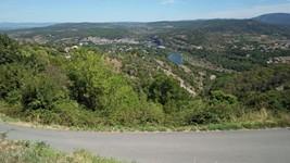 L'Ardèche depuis Sampzon