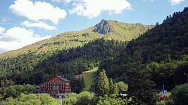 Vue depuis la station de ski du Mont-Dore