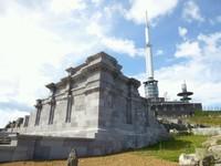 Les ruines du temple de Mercure