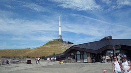 Le sommet du Puy-de-Dôme