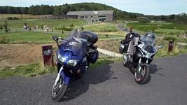 La gare de départ pour l'ascension du Puy-de-Dôme