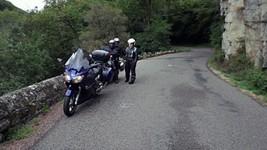 Dans les gorges de Chouvigny
