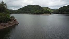 Vue depuis le barrage de Besserve