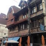 Maison normande a Etretat