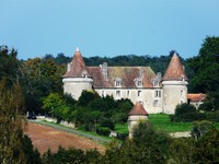 Château de Beauvais à Lussas et Nontronneau