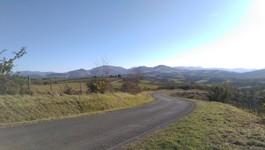 Exemple de petite route au Pays Basque