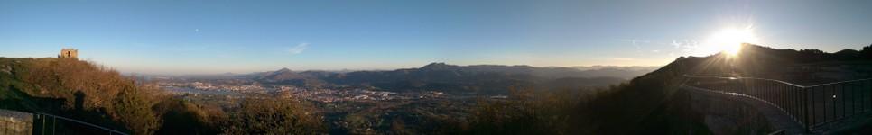 Panorama Monte JAIZKIBEK Mendia