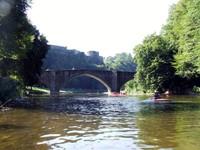 Pont des cordemois et chateau de Bouillon