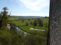 Vue depuis le château de Couvonges