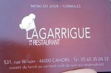 restaurant la Garrigue à CAHORS