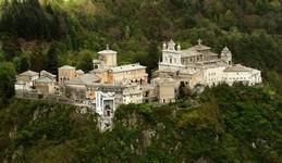 Un des point d'intéret en fin de parcours, Il Sacro Monte di Varallo, parfait pour aller manger une glace...