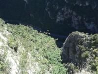 Le saut (300m de haut)
