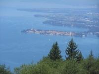 Le lac de Constance vue au dessus de bregenz