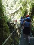 Port du casque obligatoire durant la visite des Gorges