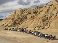 Halte dans le désert des Barderas