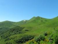derrière le Puy de Sancy