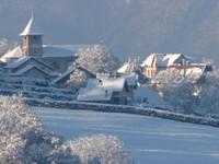 Le Montcel enneigé