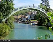 Chanaz et canal de Savière