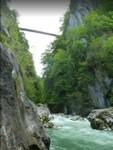 Pont de l'Abîme vue de dessous