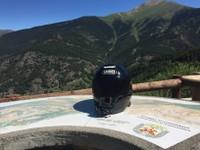 Descente vers Andorre la vieille