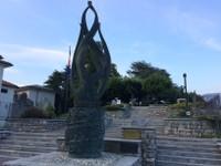 Monument dédié aux motocyclistes