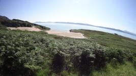 Belle plage dans le nord