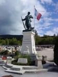 Monument en mémoire du défilé du 11.11.1943 à Oyonnax