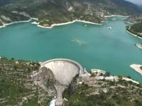 Barrage et Lac de Castillon