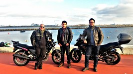 rencontre avec membre du groupe Honda CB500 Portugal