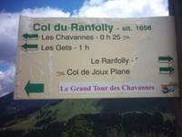Col du Ranfolly