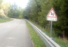 12km de monté avec virages  ;-)