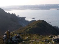 Binic vu du Sentier des Douaniers
