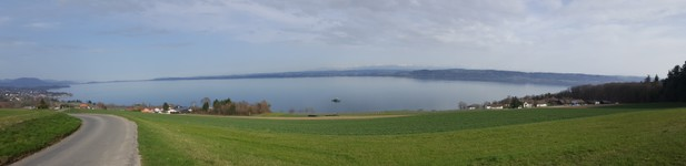 Panorama lac de Neuchâtel